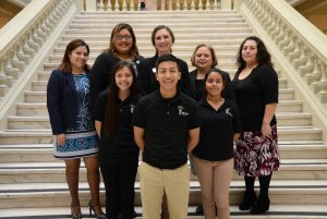 REACH Scholars at REACH Day at the Capitol