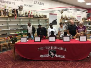 Treutlen County Schools REACH Signing Day 2018