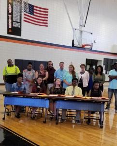 Candler County Schools REACH Signing Day 2018
