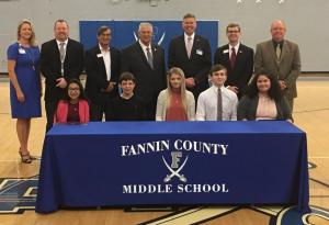 Fannin County Signing 2018