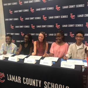 Lamar County Schools REACH Signing Day 2018