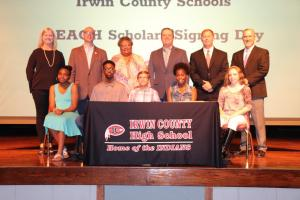 Irwin County Schools REACH Signing Day 2018
