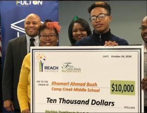REACH Scholar Khamari Bush