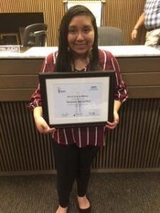 REACH Scholar with certificate 3