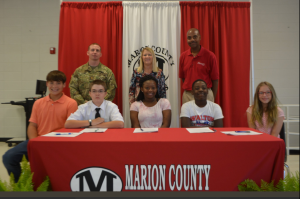 Marion County Schools REACH Signing Day 2018