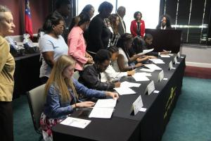 Bibb County Schools REACH Signing Day 2018