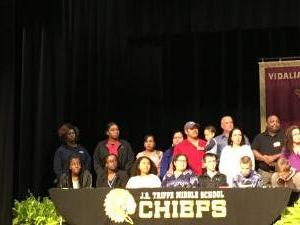 Vidalia City Schools REACH Signing Day 2018