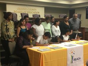 Cohort 1 REACH Signing