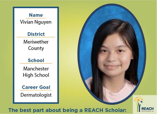 REACH Scholar Vivian Nguyen
