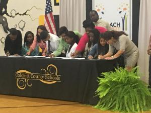 Colquitt County REACH Signing Day 2017