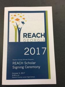 Dawson County REACH Signing Day 2017