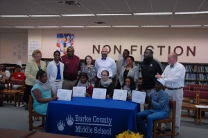 Burke County Schools REACH Signing Day 2015