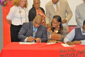 REACH Signing Day for Dougherty County Schools