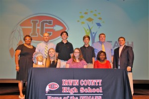 REACH Signing Day for Irwin County Schools