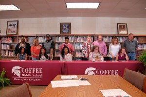 REACH Signing Day for Coffee County Schools